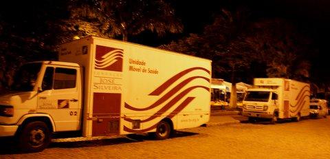 Unidades Móveis de Saúde da Fundação José Silveira