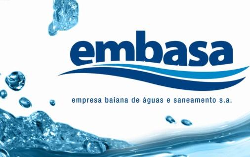 Logomarca da Embasa | Foto: reprodução