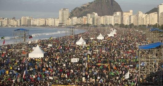 Missa do Envio, JMJ - Rio de Janeiro 2013 | Foto: Portal IG