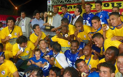 Galícia é campeão Baiano 2013 | Foto: Carlos Santana FBF