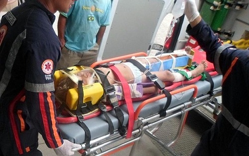 Caminhão atropela quatro crianças em Itapetinga, duas morreram na hora e duas foram levadas para hospital   Foto: Tiago Botino   Itapetinga Agora.com