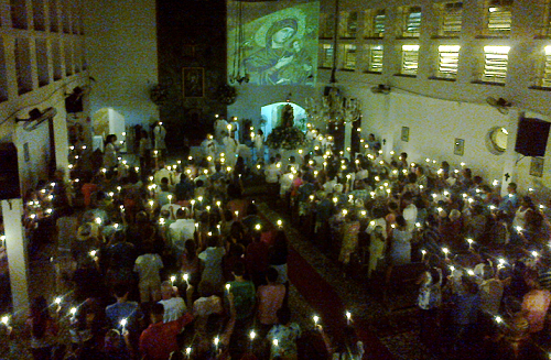Noite da Luz, Festa da Padroeira 2013