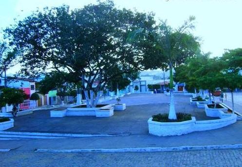 Praça Manoel Novaes em Iguaí   Foto: Eduardo Martins
