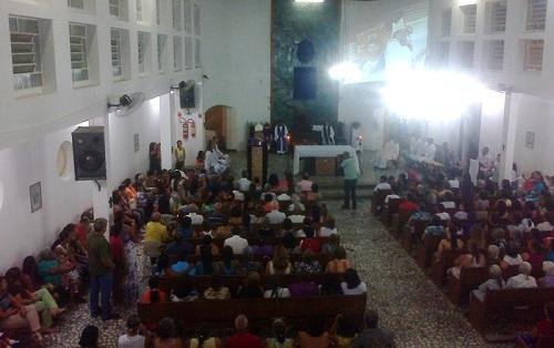 Missa celebrada por Dom Estevam em Iguaí