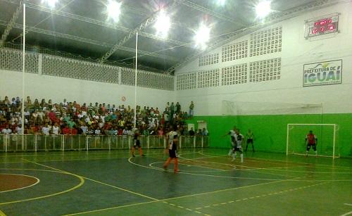 Sevilha e Aliança. Final do Campeonato de Futsal de Iguaí 2014 | Foto: IguaíBAHIA
