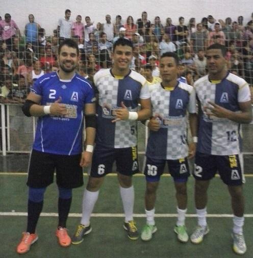 Rodrigo, Hiago, Leno e Davi | Foto: Reprodução facebook