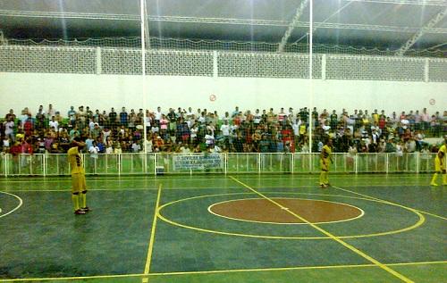 Porto x Aliança, Semifinais do Campeonato de Futsal de Iguaí 2014 | Foto: IguaíBAHIA