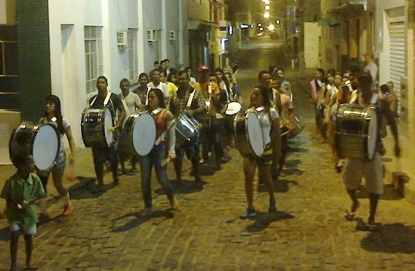 Banda Marcial realiza ensaio nas ruas de Iguaí | Foto: IguaíBAHIA
