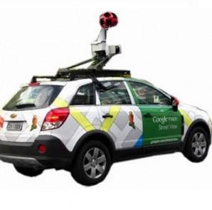 Carro do Google Street View