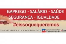 campanha bancários 2014