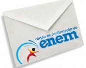 Cartão confirmação Enem
