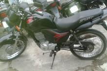 Motocicleta recuperada em Nova Canaã (2)