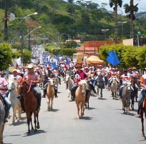 Cavalgada da Fé em Nova Canaã