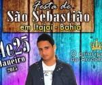 Cartaz Festa de São Sebastião em Itajaí