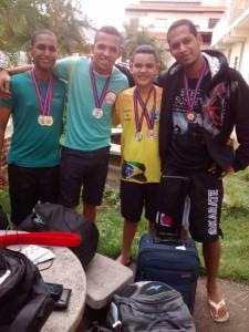 Atletas de Iguaí que foram medalhistas em Itaberaba (Foto: Reprodução Facebook)