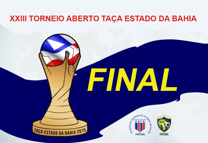 Cartaz Taça Estado da Bahia 2015