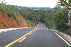 O trecho de 19 quilômetros, que liga o povoado de Taboquinhas à cidade de Itacaré (Foto: Manu  Dias/ GOVBA)