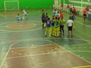 A vibração dos jogadores do Boca Juniors de Itapetinga (Foto: Iguaí Bahia)