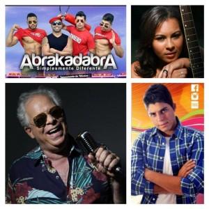 Abrakadabra, Amanda Costa, Lordão e Kaio Oliveira (Foto: Montagem IguaíBAHIA)