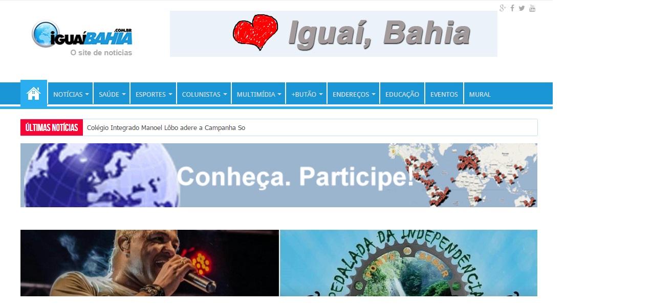 Site Iguai Bahia