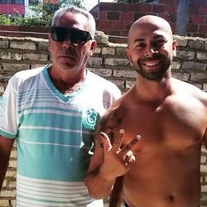 Tio Léo (À esquerda) e Pretu Abrakadabra (Foto: Reprodução Facebook)