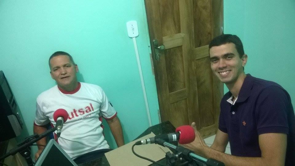 Valci Teixeira e Yuri Borges (Foto: IguaíBAHIA)