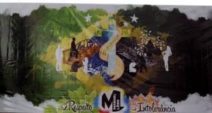 O banner do evento foi idealizado pelo aluno Lucca do 1º ano do ensino médio