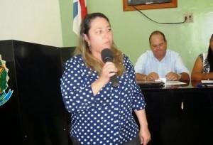Prefeita Raquel Lopes (Foto: Raquel Lopes)