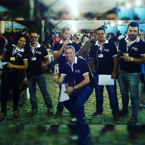 Equipe da Rádio 104.9 (Foto: Divulgação/Facebook)