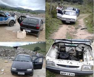 Veículos furtados foram recuperados pela 21ª COORPIN(Foto: Site Itapetinga na Mídia)