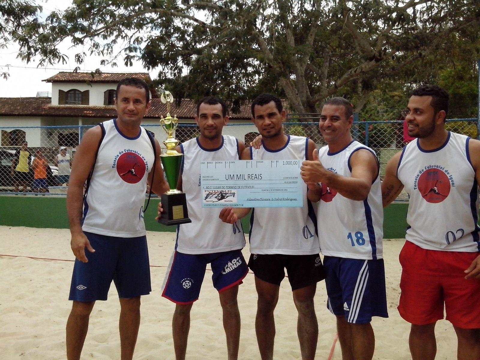Torneio de Futevôlei em Iguaí 2015 (1)
