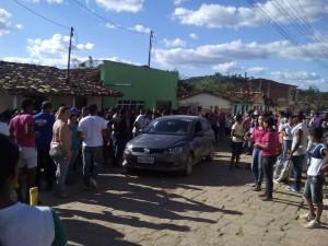 Os feridos foram levados para o Hospital Manoel Martins Souza em Iguaí (Foto: Facebook Banda Marcial Iguaí)