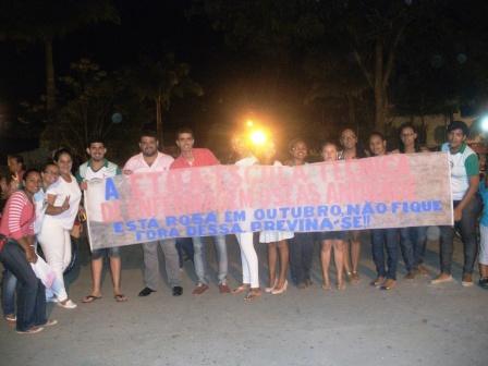 Alunos da ETOA (Escola Técnica Oséias Andrade) (Foto: IguaíBAHIA)