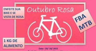 Passeio De Bike Contra Cancer