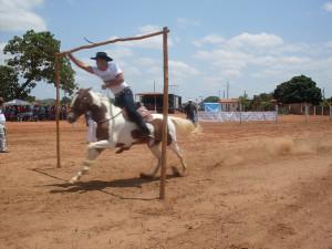 Competição de Argolinha (Foto: Reprodução Internet)