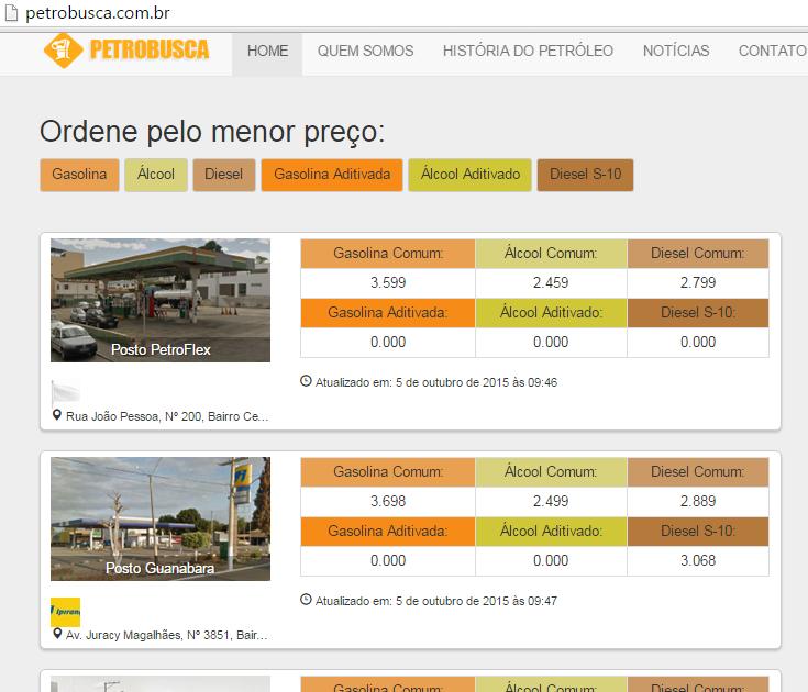 Site Petrobusca