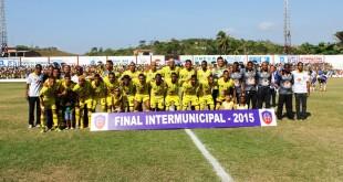 Seleção de Santo Amaro no Intermunicipal 2015