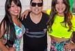 Paulinha Abelha, Daniel Diau e Silvânia Aquino em recente ação de merchandising ( Foto : Bruno Carvalho )