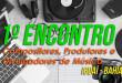 Cartaz Divulgação do 1º Encontro de Compositores, Produtores e Divulgadores de Música, em Iguaí - Bahia