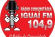 Logomarca da Rádio.