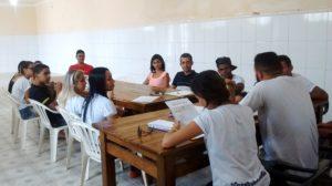 Reunião do COMJUVE Iguaí (Foto: Lucas Santos)