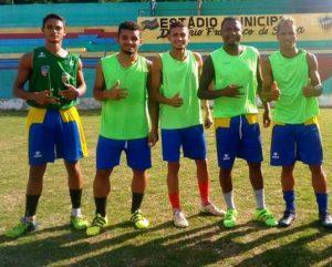 Gugu e companheiros de time (Foto: Divulgação)
