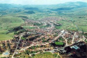 Foto aérea de Iguaí. (Foto: Divulgação)