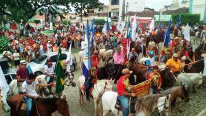 O Prefeito Eleito de Iguaí, Rony Moitinho, também marcou presença em mais uma Chegada Da Bandeira. (Foto:IguaíBAHIA)